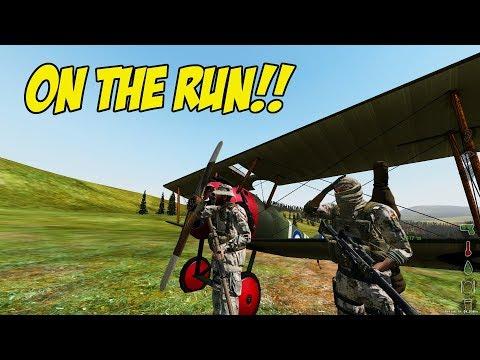 ARMA 2 DAYZ OVERPOCH - ON THE RUN!