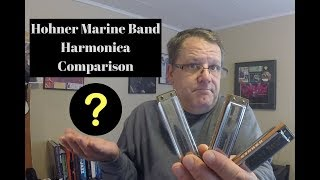 Hohner Marine Band Harmonica Comparison