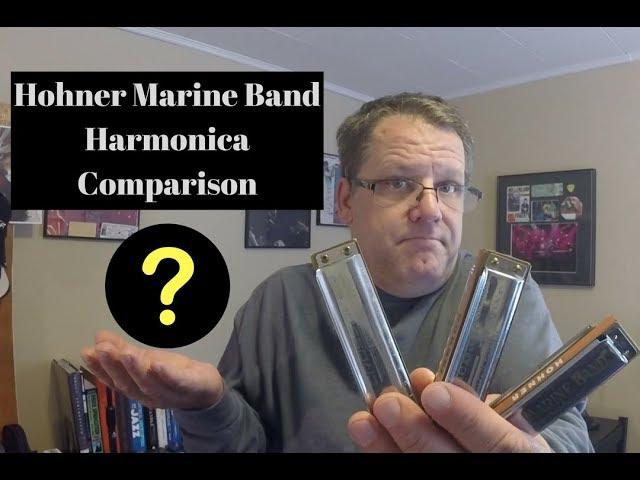 Hohner Marine Band Harmonica Comparison