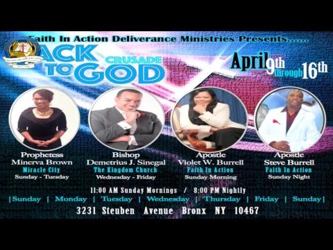 Miracle Monday Service w/ Apostle Steve Burrell