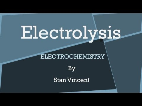 Lesson 8: Electrolysis and Electrolytic Cells - latest copy of grade