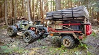 Ultimate Overland Trailer Build! (Power Wheels Mods)