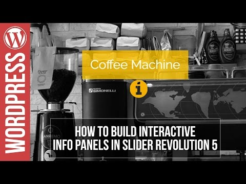 Slider Revolution 5 tutorial: Interactive Information Slider Tutorial