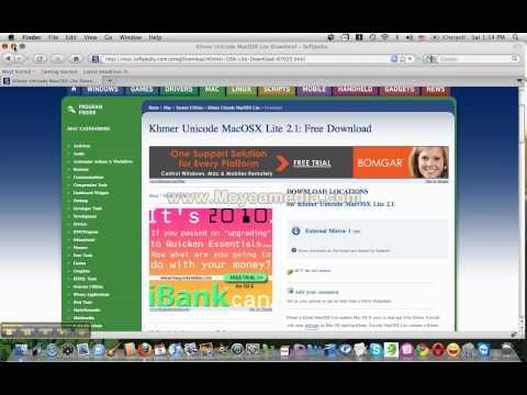 How to install Khmer Unicode on Windows 8 | Doovi
