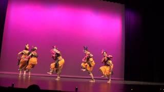 iGurukul 2014 - Dalkhai Sambalpuri dance