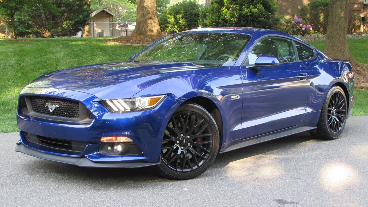 2015 Ford Mustang GT Fastback (6-Spd Performance Package) Start Up ...