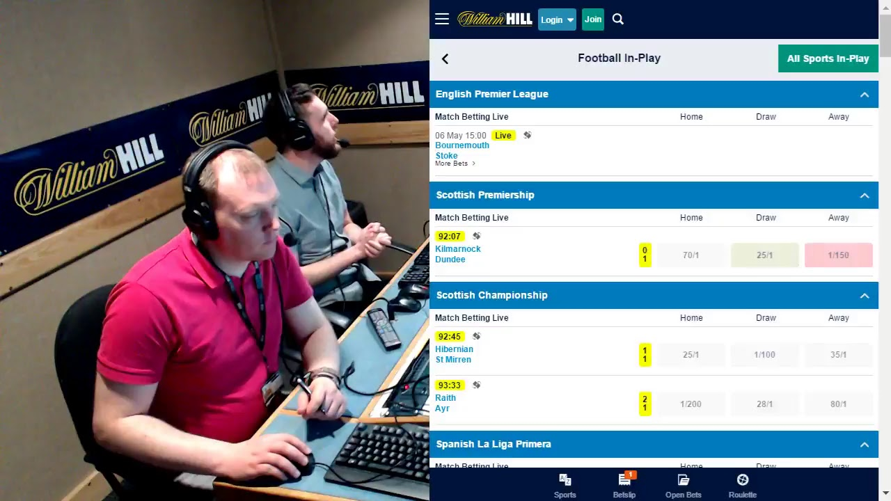William Hill Live