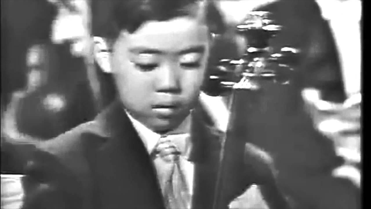 Leonard Bernstein presents 7-year-old Yo-Yo Ma's high-profile debut for  President John F  Kennedy