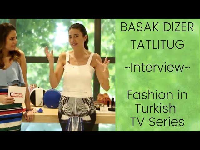 Fashion in Turkish TV Series: Interview with Basak Dizer