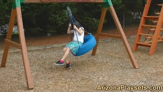 Gorilla Playsets Free Standing Tire Swing Review From Arizona Playsets