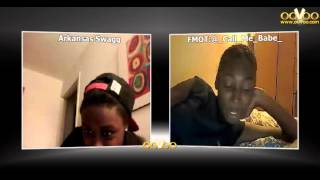 me and my main on oovoo