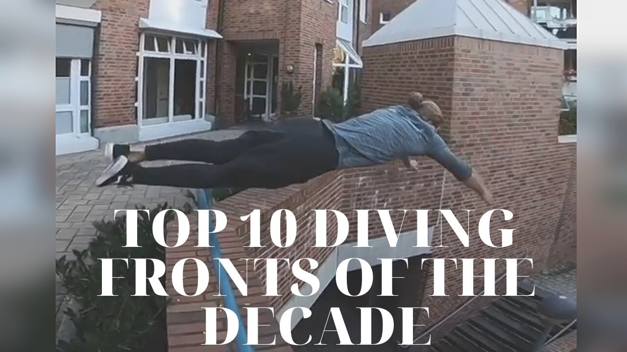 TOP 10 DIVING FRONTS OF THE DECADE - DOMTOMATO PARKOUR