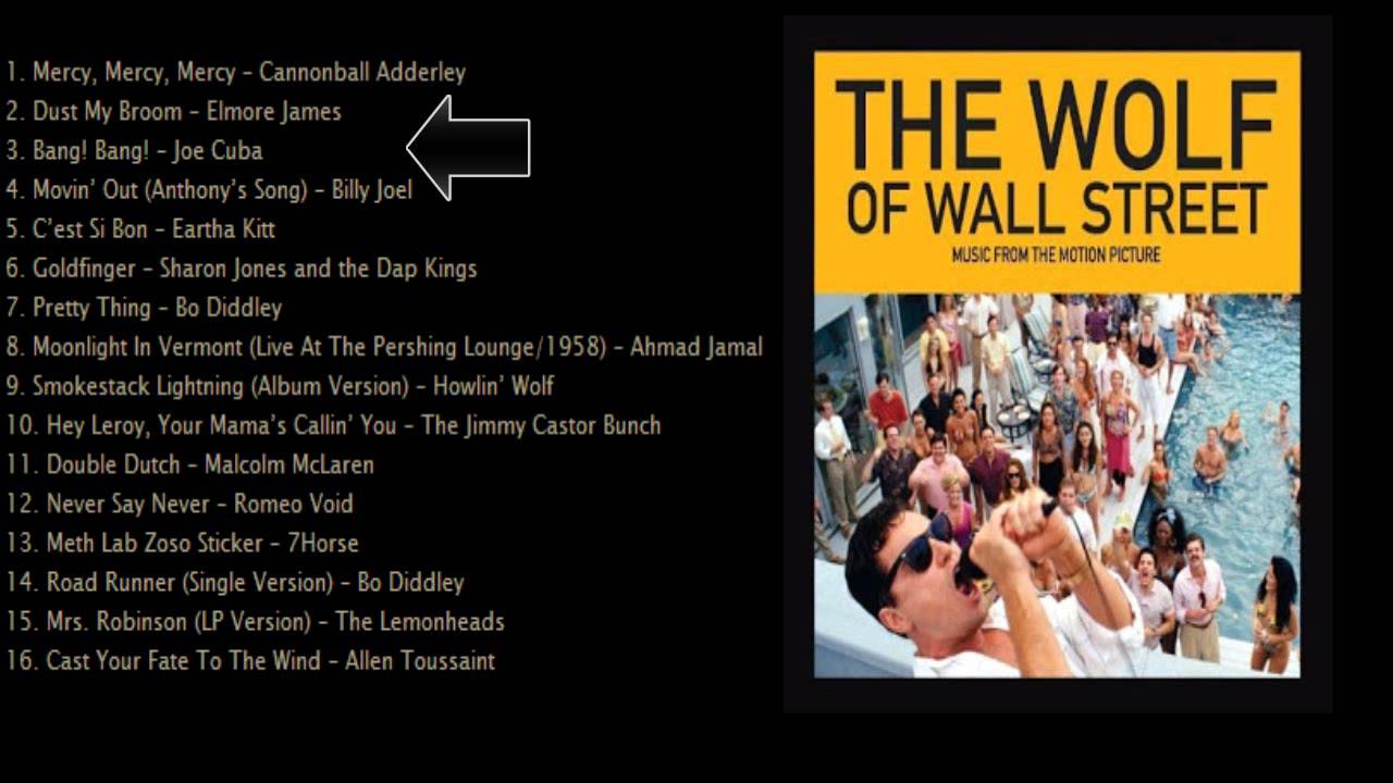 A wall street farkasa letoltes - The Wolf Of Wall Street Soundtrack List