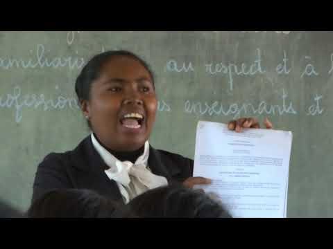 FAMPIOFANANA MPAMPIANATRA  -  (Conseillère pédagogique) - Part1 ~ EPP Mahitsy