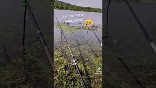 прикол на рыбалке вот это настоящий рыбак