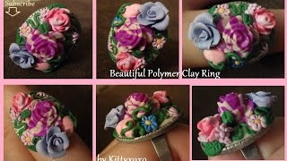 Polymer Clay Beautiful Ring