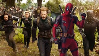 DEADPOOL JOINS AVENGERS INFINITY WAR