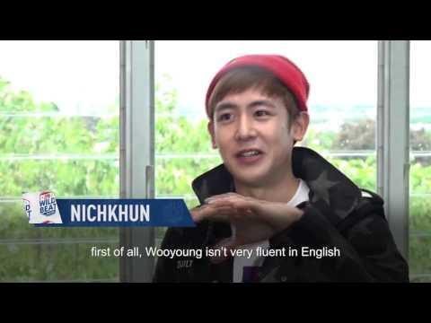 Nichkhun talks about Wooyoung | 2PM WILD BEAT | E!