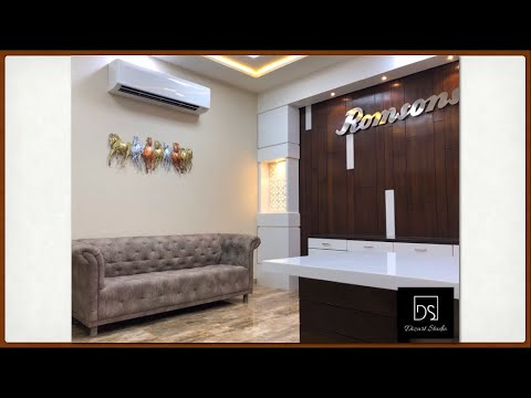 Romsons Medicons Corporate Office Interior Design, Agra | Dizart Studio