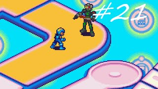 Let's Play Mega Man Battle Network 4 Red Sun #21 - Chaotic Camera