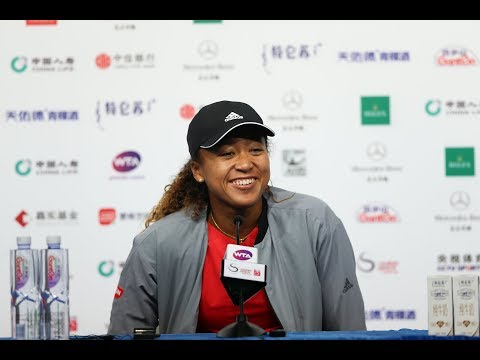 Naomi Osaka and Juan Martin del Potro hilarious in press conferences in Beijing