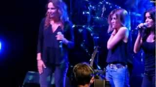 Claire Keim-Julie Zenatti-Jenifer - Beautiful-Foot Concert 2012
