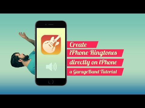 Create iPhone Ringtones, On iPhone (GarageBand tutorial)