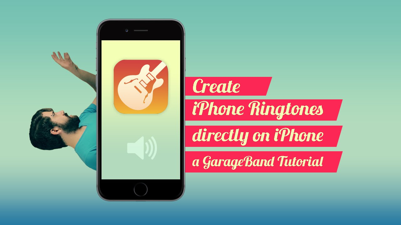 create iphone ringtone create iphone ringtones on iphone garageband tutorial 9646