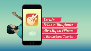 Get rid of your basic ringtone, and create something that truly expresses you... all shit :p this is a tutorial on how to use garageband iph...