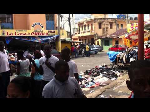 Mercado ¨La Pulga¨ - Santo Domingo (República Dominicana)