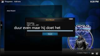 Kodi Exodus vervanger Nederlands NL dutch