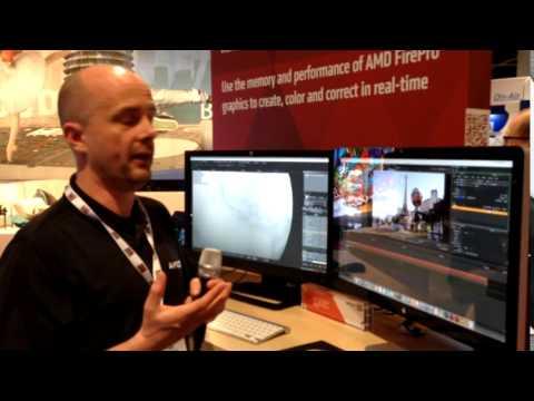 NUKE MODO & MARI running on AMD FirePro GPUs