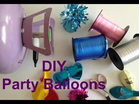 DIY Party Balloons