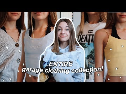 Trying On My ENTIRE Garage Clothing Collection!