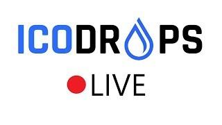ICODROPS Live, 2 часа обо всем. IEO, VeriBlock, BitMax, Celer, MTV, Kucoin