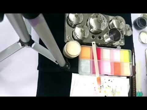Học cách đắp hoạt hình lên móng bột – Đắp hoạt hình gấu trúc- Nail Khánh Ly