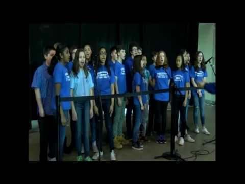 Pennichuck Middle School - U.S. Anthem - April 2, 2017