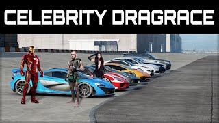 The Ultimate Celebrity Dragrace #3 | ft. Iron Man, Lewis Hamilton, Conor McGregor & more!