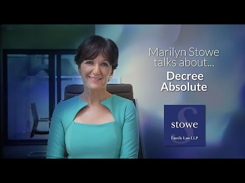 Divorce Advice: Decree Absolute -  Top Divorce Lawyer Marilyn Stowe