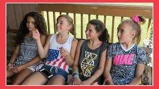 KATIE GOES TO GYMNASTICS CAMP | Flippin' Katie