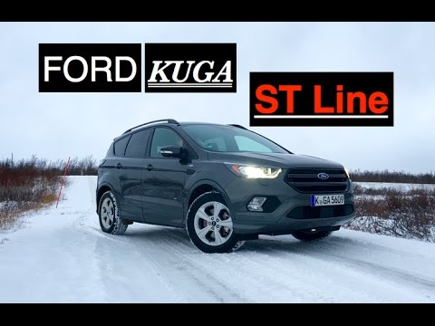 2017 ford kuga st line review inside lane youtube. Black Bedroom Furniture Sets. Home Design Ideas