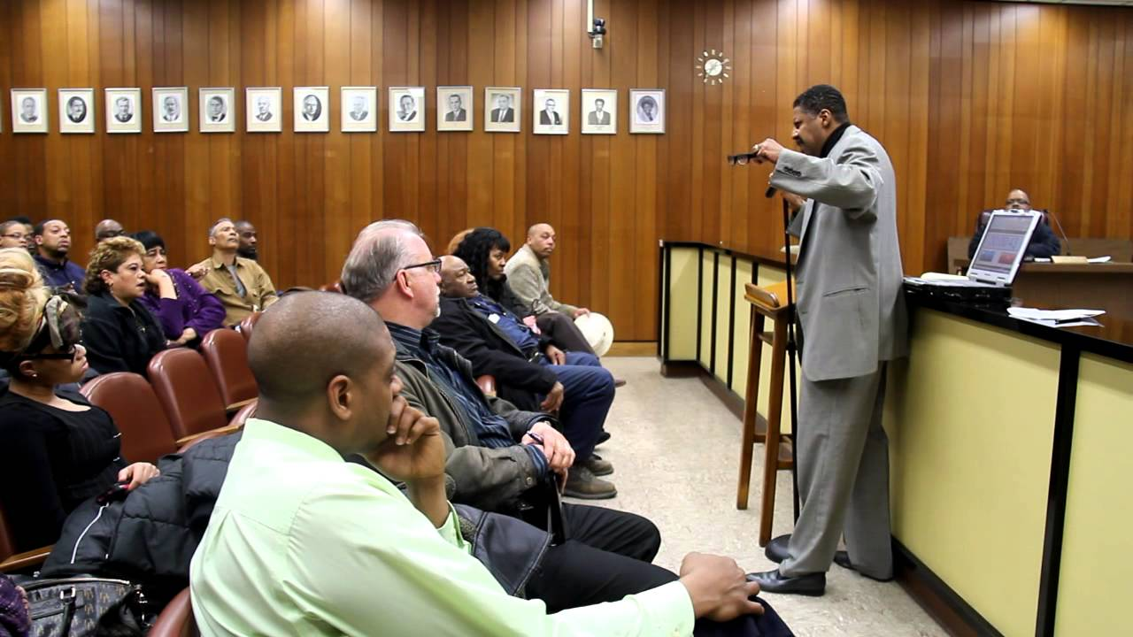 North Chicago City Council Meeting Public Comments From
