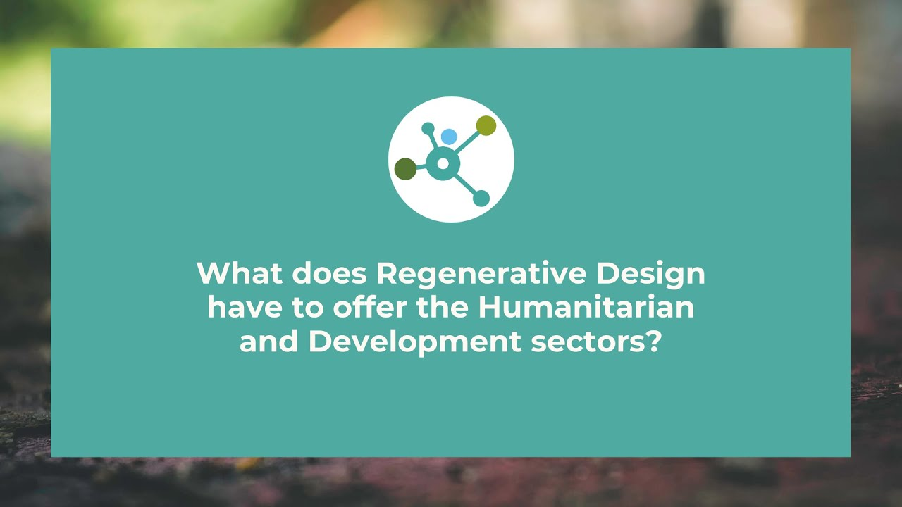 Re-Alliance | Why Regenerative Design?