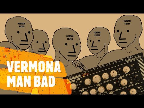 Vermona Retroverb Lancet -  Sad Day For Generic Filters!
