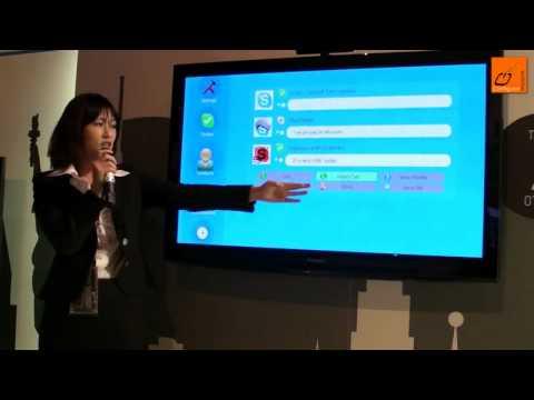 Webcam HD Panasonic Viera TY-CC10W (TV Skype)
