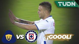 ¡Ultra golazo! ¡Qué golazo del 'Cabecita'!  | Pumas 1 - 4 Cruz Azul | Copa por México | TUDN