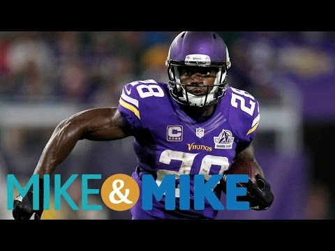 Adrian Peterson Still Available On The NFL Open Market | Mike & Mike