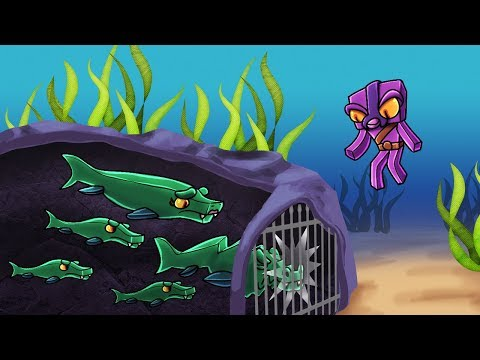 Minecraft  ANCIENT WATER DINOSAUR IS NOT EXTINCT! Mosaurous Trap Challenge