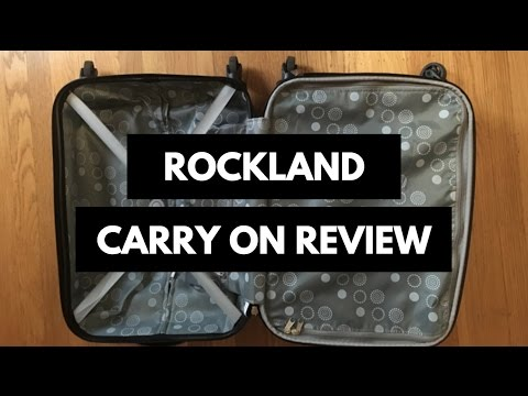 Rockland Carry On Luggage Review