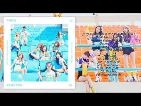 [MP3/DL] TWICE (트와이스) - CHEER UP [PAGE TWO Mini Album Vol. 2]